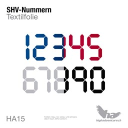 Picture of Digits für SHV-Nummern